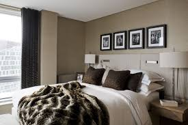 bed back wall design splendid modern interior design showcasing tranquil black lounge