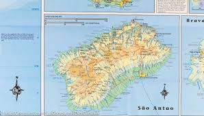 Cabo Verde Map Map Of The Cape Verde Islands Itm U2013 Mapscompany