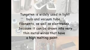 what is tungsten light what is tungsten youtube