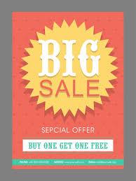 design poster buy big sale poster banner or flyer design with special discount offer