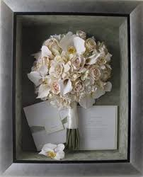 wedding wishes keepsake shadow box re purpose your wedding bridal bouquet in shadow box or frame to
