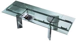 Table Ronde Blanche Avec Rallonge Pied Central by Table Bois Et Verre Avec Allonge Amazing Table A Rallonge Design