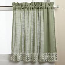 Lorraine Curtains Amazon Com Lorraine Home Fashions Jackson 58 Inch X 36 Inch Tier
