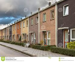 european style terrace houses stock photos image 35597253