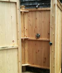 How To Build An Outdoor Shower Enclosure - outdoor shower enclosures outdoor showers md va de sc nc fl