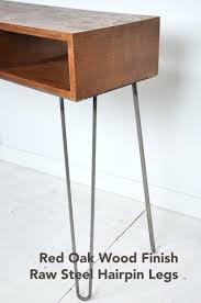 hairpin leg console table elegant hairpin leg console table 10 photos gratograt