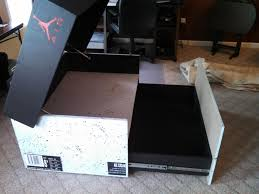 Jordan Furniture Dining Room Sets by Awesome Sneaker Storage Solution Inspired By Air Jordan 3 Box