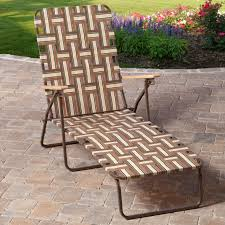 Outdoor Lounging Chairs Rio Deluxe Folding Web Chaise Lounge Walmart Com