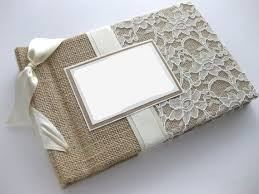 wedding photo albums 5x7 23 best photo album images on hessian fabric burlap