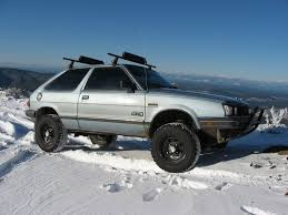 brat subaru lifted 1984 subaru gl information and photos momentcar