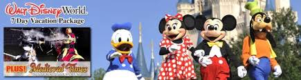 7 day walt disney world vacation package
