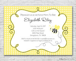 mom to bee baby shower invitation printable or printed w