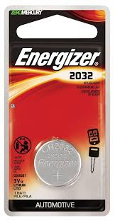Weight Watchers Bathroom Scale Battery Energizer 2032 3v Lithium Battery Retail Packaging 1 Count