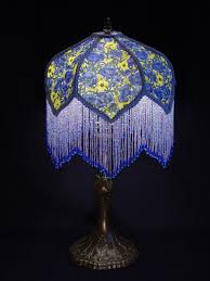 furniture captivating tiffany style blue lamp design with