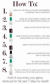 i have the gelous polish its great might take a little longer to