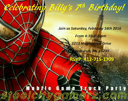 free custom birthday party invitations that are great for all ages