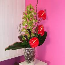 Flower Vase Painting Ideas Interior Orchid Arrangements And Vase With Interior Paint Ideas