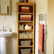 bathroom storage ideas white ceramic sink base fininsh square