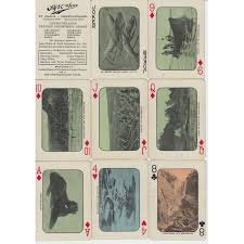 newfoundland cards deck early 1900s newfoundlandia