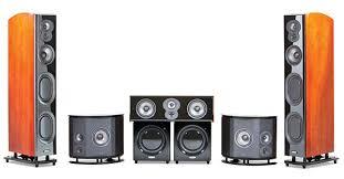 Polk Bookshelf Speakers Review Polk Lsim707 Surround Speaker System Sound U0026 Vision