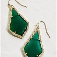 emerald green earrings kendra jewelry kendra alex earrings emerald green