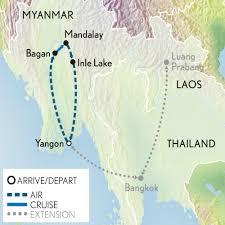 Irrawaddy River Map Small Group Myanmar U0026 The Irrawaddy Abercrombie U0026 Kent