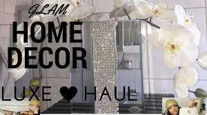 new luxe home decor haul homegoods ikea youtube