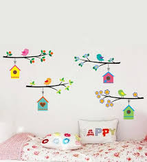 theme wall buy pvc vinyl happy theme wall sticker by cortina online florals