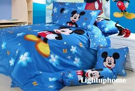 Mickey Mouse King Size Duvet Cover Mickey Mouse Bedding Sets For Boys