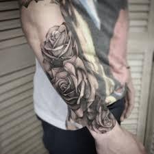 black rose arm tattoo 30 black rose tattoo designs images and