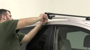 nissan juke roof rack thule crossroad roof rack installation 2011 nissan rogue youtube