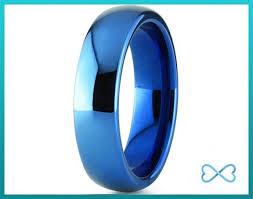 blue men rings images Blue wedding bands for men jpg