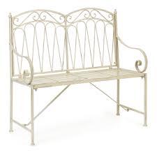 wilko romance 2 seater bench linen at wilko com cottage