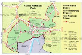 swiss map 12 top tourist attractions in switzerland planetware