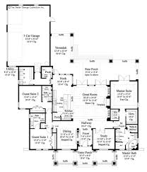 House Plans With Three Car Garage Home Plan Bayberry Lane Small House Plans Sater Design Collection