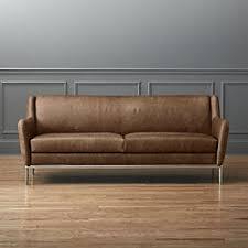 low profile sofas low profile leather sofas cb2