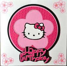 hello kitty birthday card u2013 gangcraft net