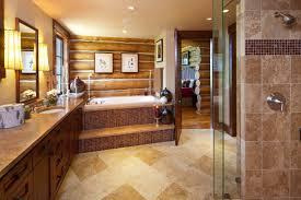 Interior Of Log Homes Bathroom Log Home Bathrooms Video And Photos Madlonsbigbear Inside