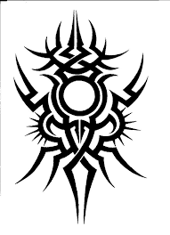 sun tribal tattoo more tribal tattoo design fun by gappsy on clipart library clip