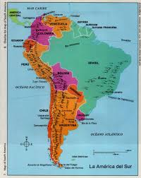 Latin America Map Labeled by Editable Powerpoint Map Latin America Countries Editable