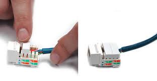 how to wire keystone jack