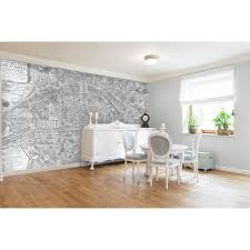 self adhesive wall paper swag paper map of 1705 huitieme plan de paris self adhesive