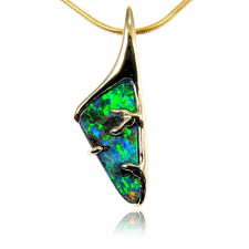 opal necklace setting images Custom made opal jewellery opals down under jpg