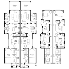 single story duplex floor plans norfolk 53 3 duplex level floorplan by kurmond homes new