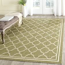Area Rug Green Beige And Green Area Rugs 8x10 Amazon Com