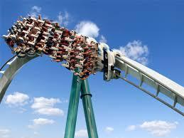 Busch Gardens Williamsburg Fall Fun Card - alpengeist roller coaster rides busch gardens williamsburg