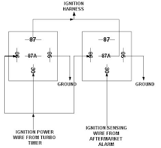 tech article turbo timer harness and alarm wiring diagram