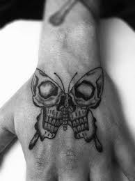 awesome skull butterfly tattoomagz