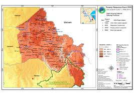 Hmong Map Maps Poverty Reducetion Fund