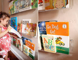 girls u0027 room acrylic bookshelves u0026 a library wall pepper design blog